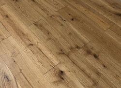 Natural Oiled Rustic Solid Oak Timber Flooring - 125x18mm