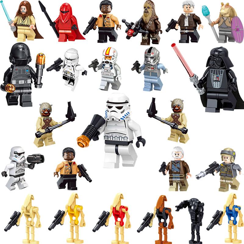 Starwars figures mini action figures Bricks Skywalker Palpatine sembo blocks soldier Building Blocks Figures Kids Toys diy toys