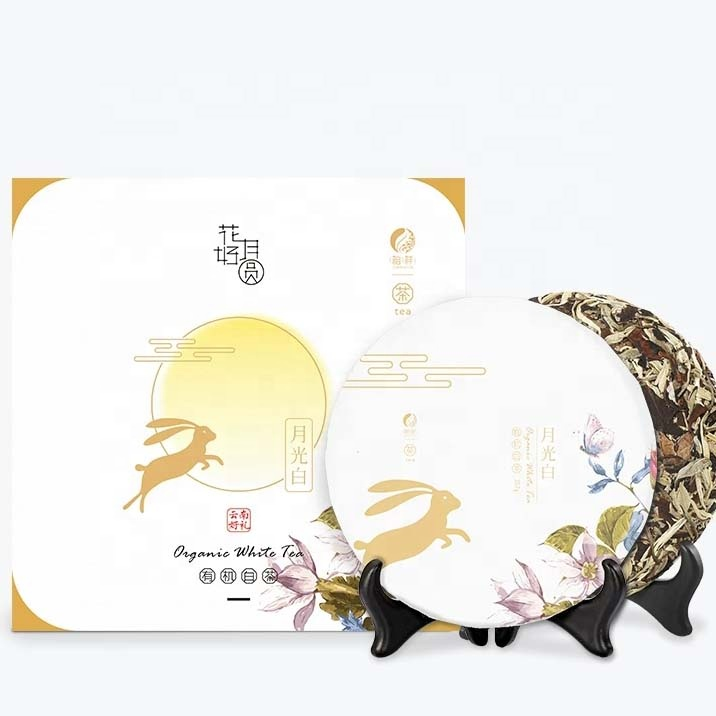 ZuXiang Wuliangfengyue Mid-Autumn Festival Gifts Chinese Traditional Festival Packaging Organic White Tea - 4uTea | 4uTea.com