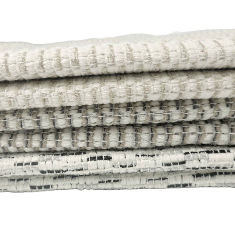 2020 Linen fabric 100% polyester for furniture upholstery