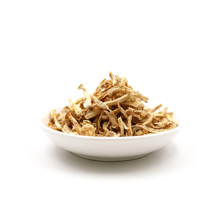 ginger flake of chinese ginger tea made by top grade dried shredded ginger wholesale - 4uTea   4uTea.com