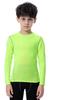 Vert à manches longues tops
