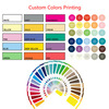 Accept custom color printing