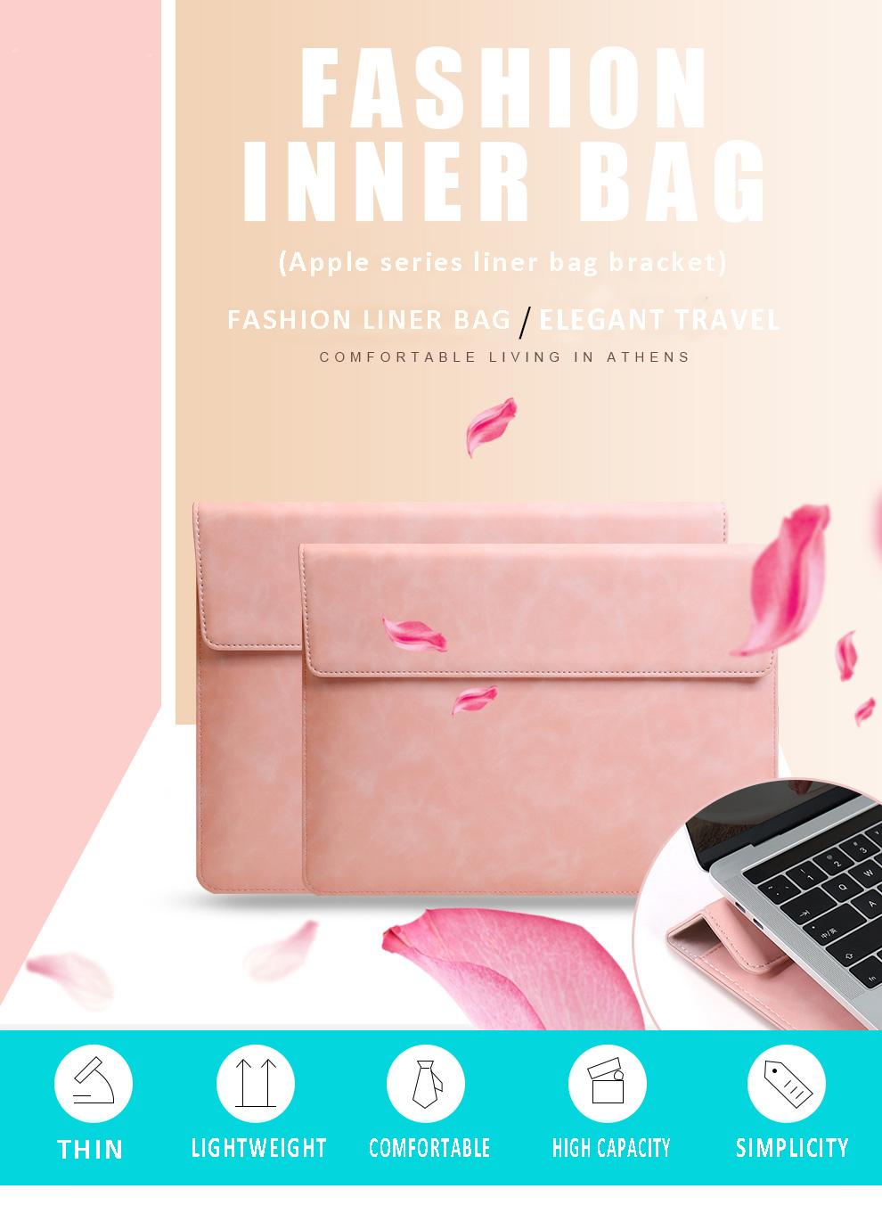 Fashion Office Gift Liner Bag Computer Cover Notebook bag women men for macbook case
