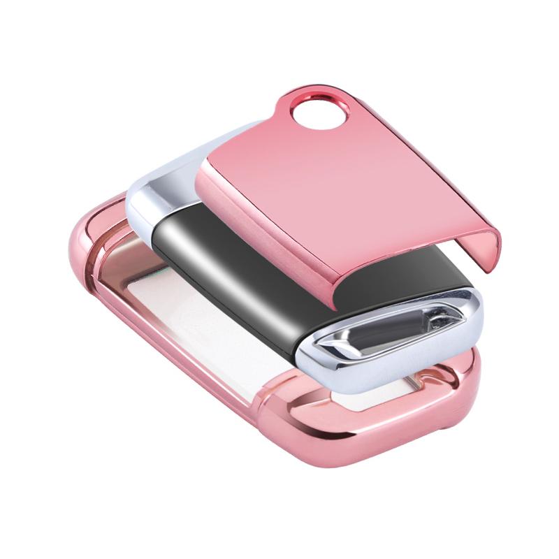 New Accesorios YHC Autos Keyless Key Fob Protector TPU Car Key Cover car key case for VW Magotan B8
