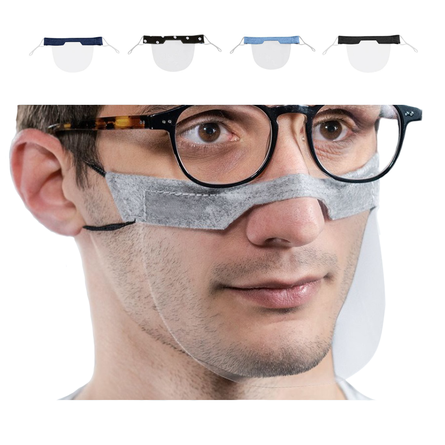 Wholesale Fashion Safety Transparent Clear Plastic Face Mouth Shield Cover Protective Mask - KingCare   KingCare.net