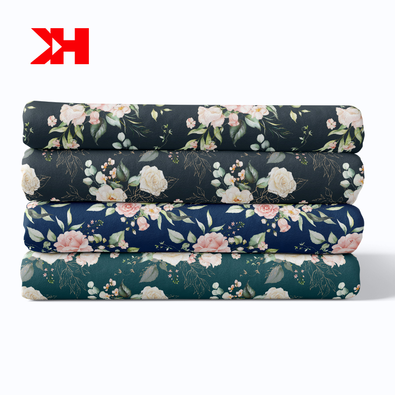 chinese custom eco-friendly textile 100% organic cotton fabric for garment
