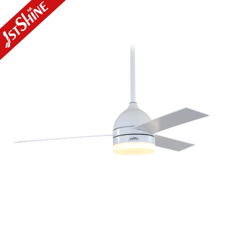 1stshine 52 дюймов скандинавские современные светодиодные фанера потолочные вентиляторы с подсветкой