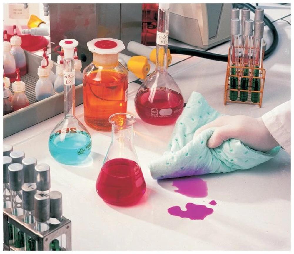 Коврик для химической абсорбирующей прокладки, набор для химической лаборатории, универсальные впитывающие вредные впитывающие коврики