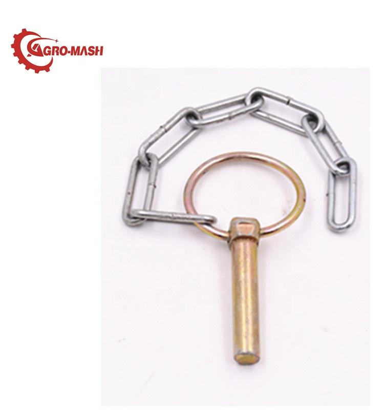 4558 MTZ детали для сельскохозяйственной техники A61.05.100 стальной цепной штифт MTZ с кольцом
