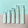 White plastic bottles for lotion
