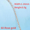 60-Rose gold