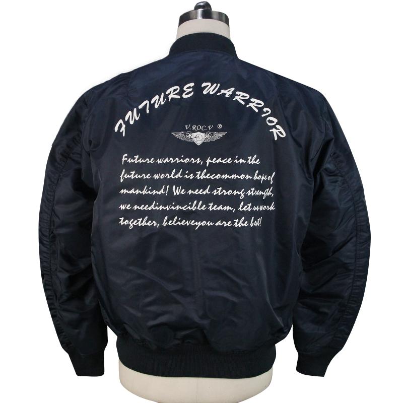 Классическая удобная куртка-бомбер на заказ, мужская спортивная зимняя куртка, оптом