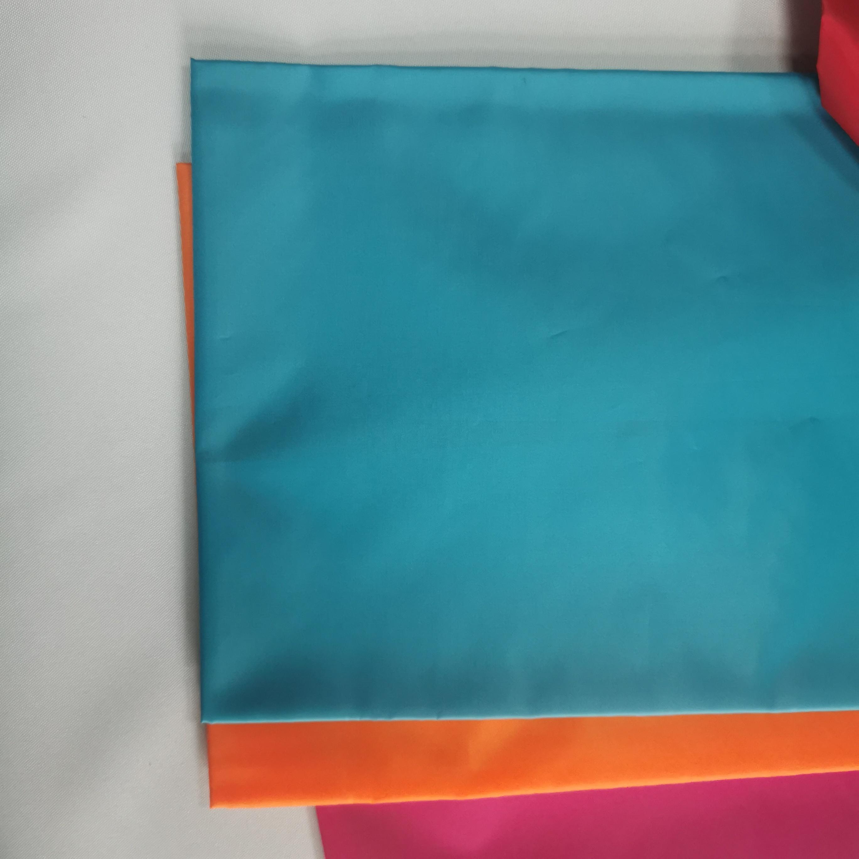 Hot sale  210T Polyester Taffeta Fabric Lining 80g 210T 90g 100g Garment Lining