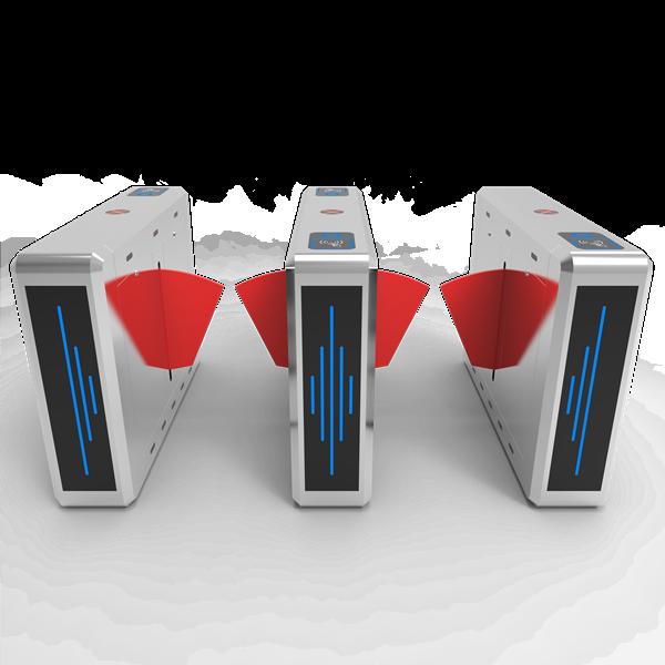 RFID Access Control Flap Barrier