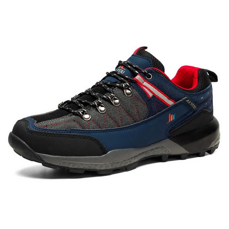Удобная Нескользящая вентилируемая Мужская обувь для трекинга
