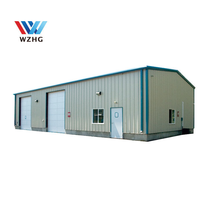 Prefabricated building warehouse sheds, steel shed roof structure