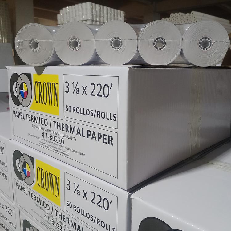 Термобумажные рулоны для кассового аппарата 80*83 мм, Прямая поставка с завода