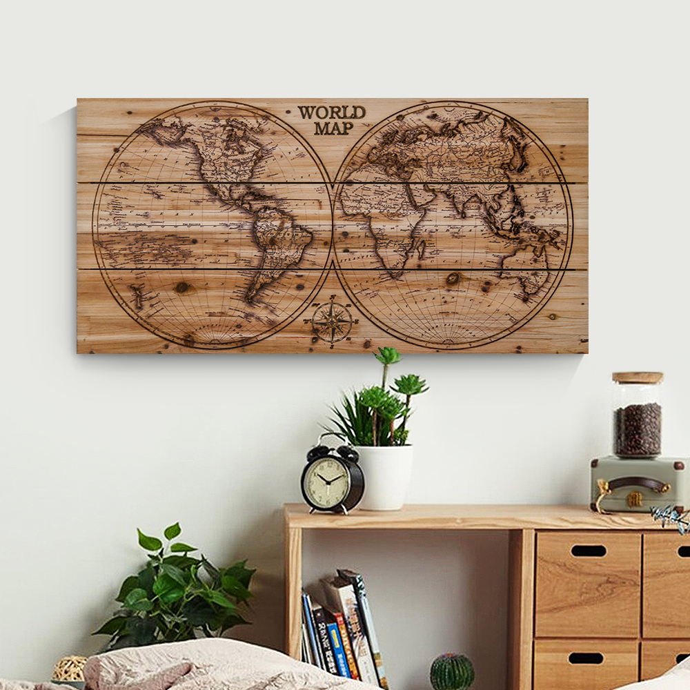 Wholesale Home Decor Decorative Small Unique Wood Wall Art Painting Buy Unique Wood Wall Decor Small Wooden Wall Art Art Craft Wood Product On Alibaba Com