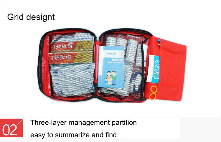 Custom Wholesale Waterproof First Aid Kit Bags Medical Emergency Bags