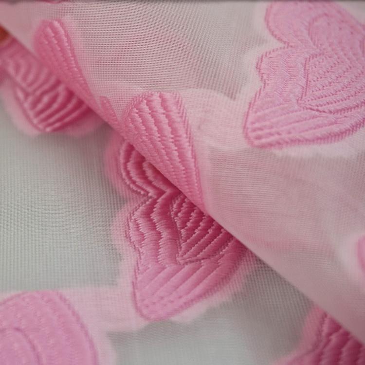 2021 Double striped large iris cut Woven kogen filigree jacquard flower fabric for dresses