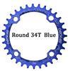 כחול דיסק 34T