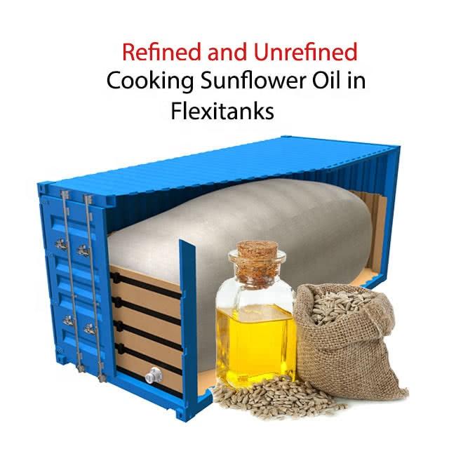 Best Quality Refined Cooking Sunflower Oil Flexitank