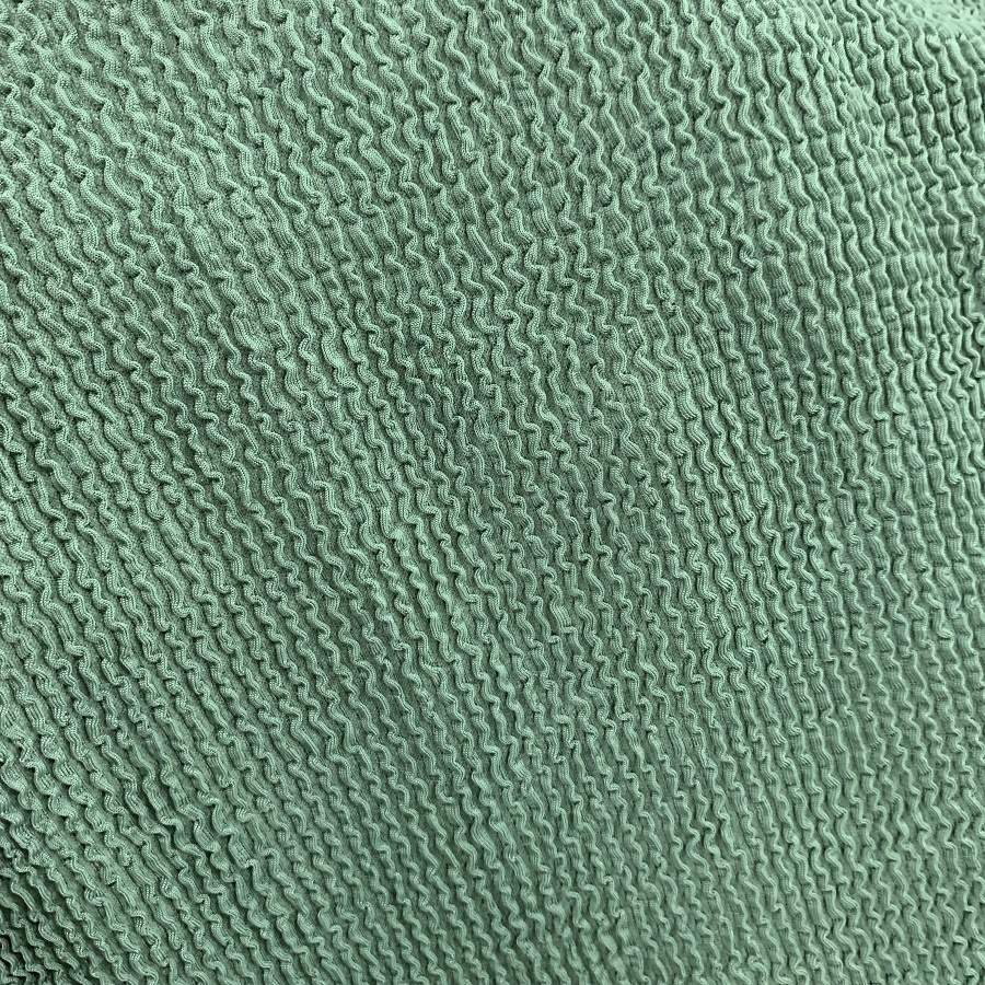 custom color stretched breathable stripe crinkle swimwear fabric seersucker fabric for swimsuits