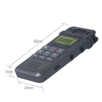8GB Digital Voice Recorder Dictaphone MP3 Player Recording and Telephone Recording digital voice recorder