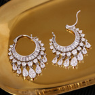New Fashionable Exquisite Women Wedding Chandelier Earings For Women 2020 for Pageant
