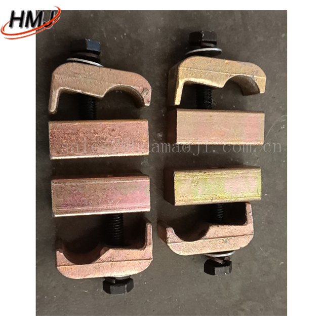 Excavator hydraulic breaker pipe clamp 4 points 6 points 1 inch