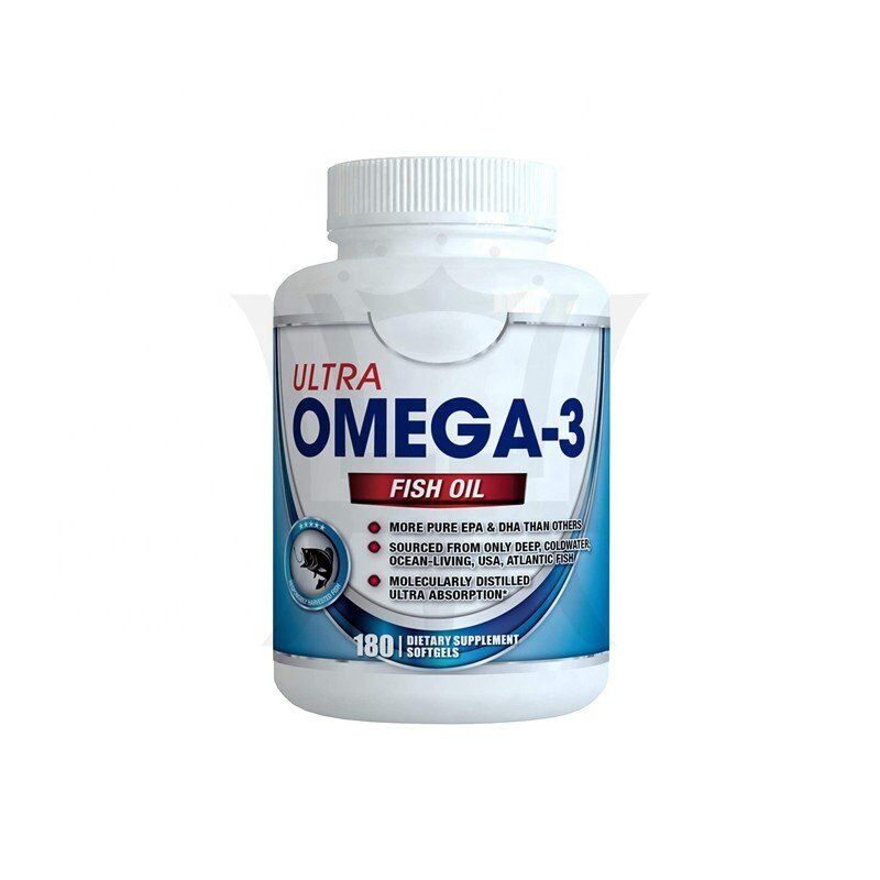 Omega 3 Fish Oil 3000mg 180 Capsules Helps Support Wellness Health of Joints Brain Development Improve Immune Systems
