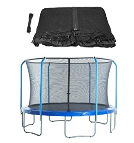 Commercial outdoor professional round kids trampoline with safety net