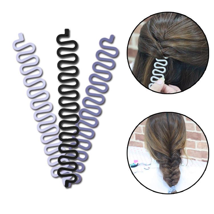 蜈蚣 头发 编织器