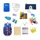 Back to School Stationery Kit Dinosaur stamps dinosaur stationery Set Pencils, Notebooks, Erasers,tattoos and stamper