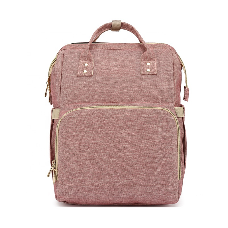 New arrival baby sleep backpack bag for baby organic winter cotton multifunctional outdoor mummy bag backpack LOW MOQ