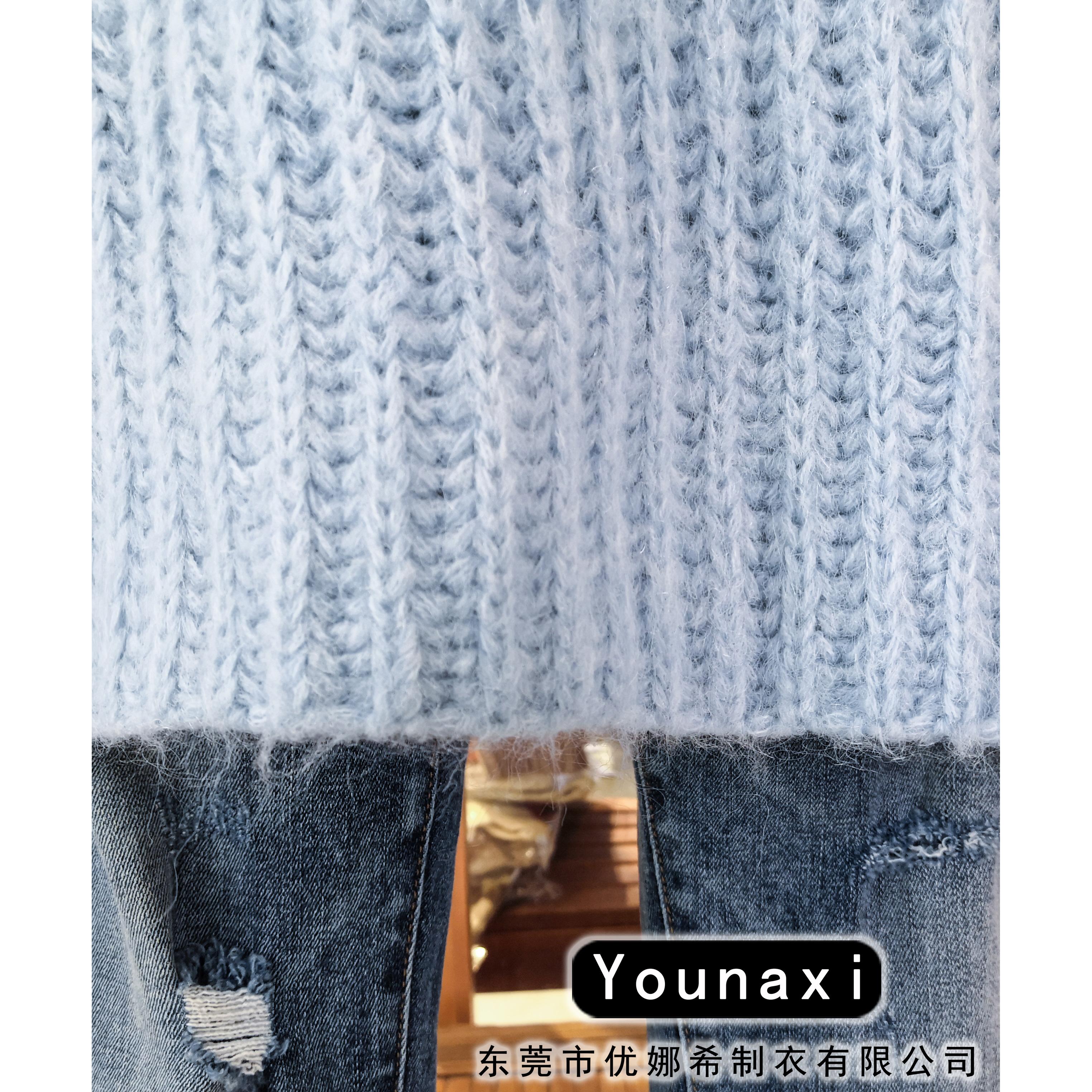 Пуловер для женщин, вязаная одежда, кашемировый свитер на заказ, водолазка, свитер, Новая модная женская Повседневная Мягкая кофта с длинным рукавом