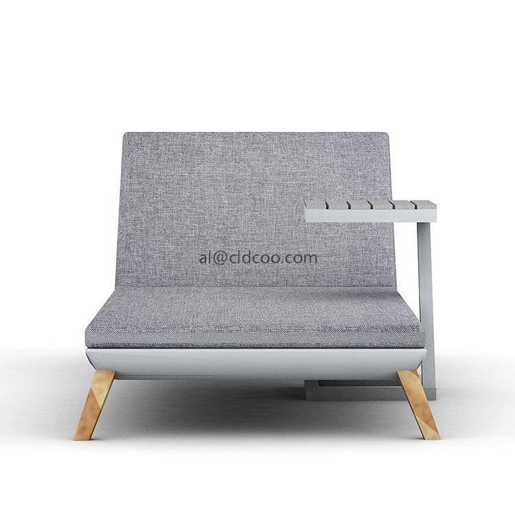 Устойчивая качественная мебель для бассейна, роскошный шезлонг, уличная шезлонг