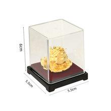 24 к Золотая фольга лягушка фэн-шуй китайская жаба Золотая лягушка деньги удача богатство офисное украшение для стола домашний декор счастл...(Китай)