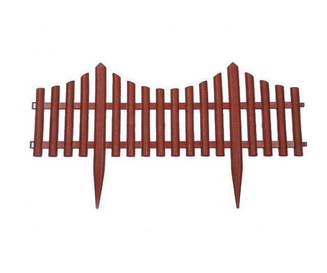 Plastic Tuin Decoratie Piket Fence-4pcs Pack
