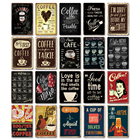 Metal Kitchen Metal Retro Metal Signs Coffee Retro Metal Tin Signs Vintage Cafe Coffee Bar Shop Bistro Kitchen Wall Decor
