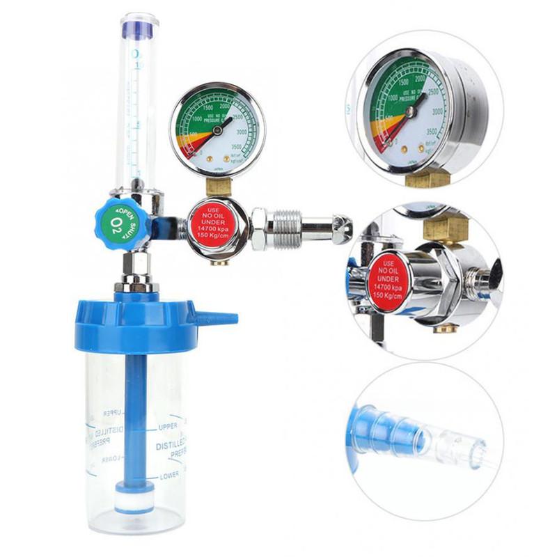 Hot sale YR-88 Medical oxygen regulator air gas pressure regulator for gas cylinder male regulator