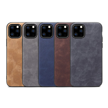 Support OEM Design Premium PU Leather Back Cover Case For iPhone 11 Pro, for iphone 11 pu leather case
