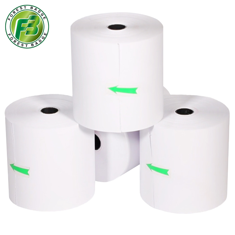 BPA FREE Pos thermal Paper roll 55 Meters in Length 3 1/8 manufacturers