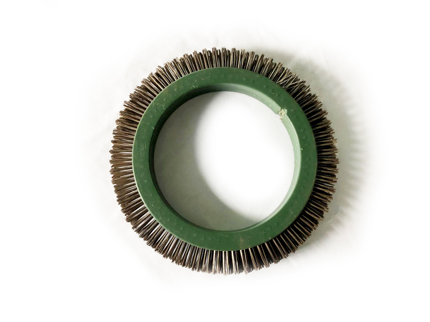 Various kinds of dyeing and finishing brush wheels for high quality pig hair used in textile finishing machine and stenter
