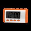 red customize voice alarm clock