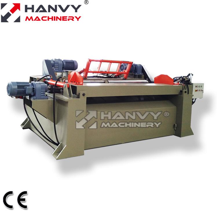 Фанерное оборудование Hanvy, 4 фута и 8 футов, машина для скручивания деревянных бревен для разлая