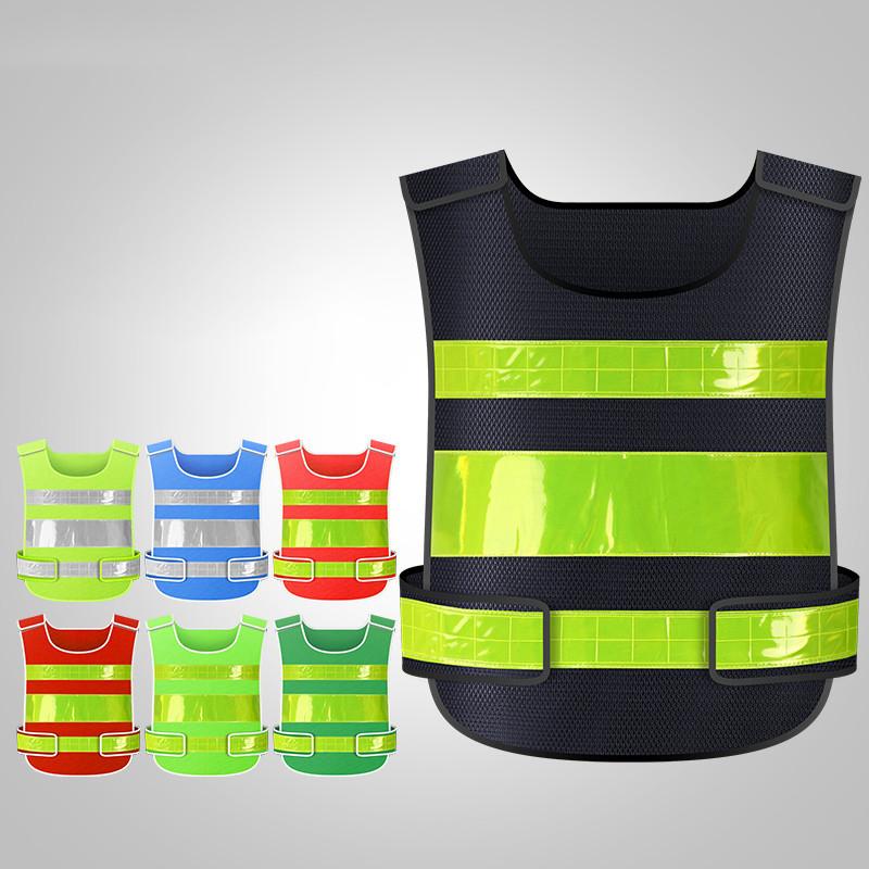 2021 Новый долговечный крутой и безопасный ночной светоотражающий жилет с защитной жилеткой на заказ