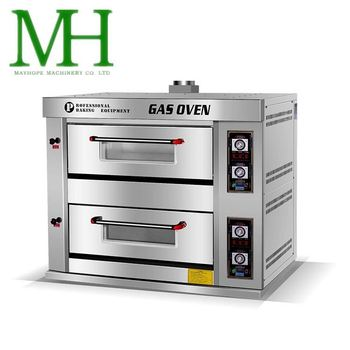 MAYHOPE Industrial Baking Equipment Hybrid Gas Oven for Biscuit Factory
