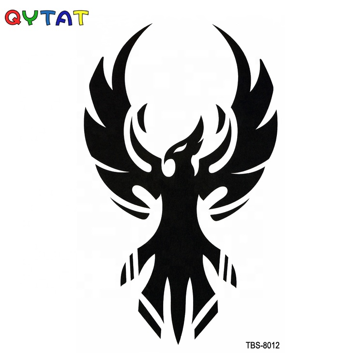 Non-toxic Fashionable New Style Men Leg Shoulder Arm Temporary Tattoo Stickers For Body